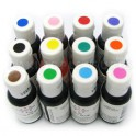 Kit 12 colorantes en gel...
