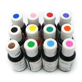 Kit 12 colorantes en gel Americolor