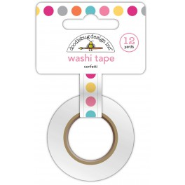 Washi Tape lunares colores