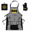 Conjunto de delantal Batman