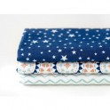 Pack 3 Fat Quarter 45x55cm...