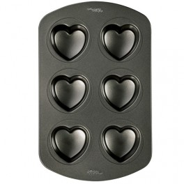 Molde metal mini corazones
