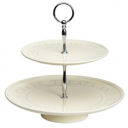 Cake Stand Classic Collection en 2 pisos