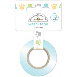 Washi Tape huellas