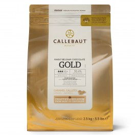 Callets Chocolate Caramelo Gold 2,5...