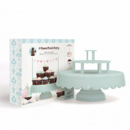 Cake Stand Personalizable Mint