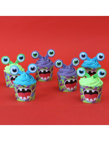 Kit Cupcakes Alienígenas